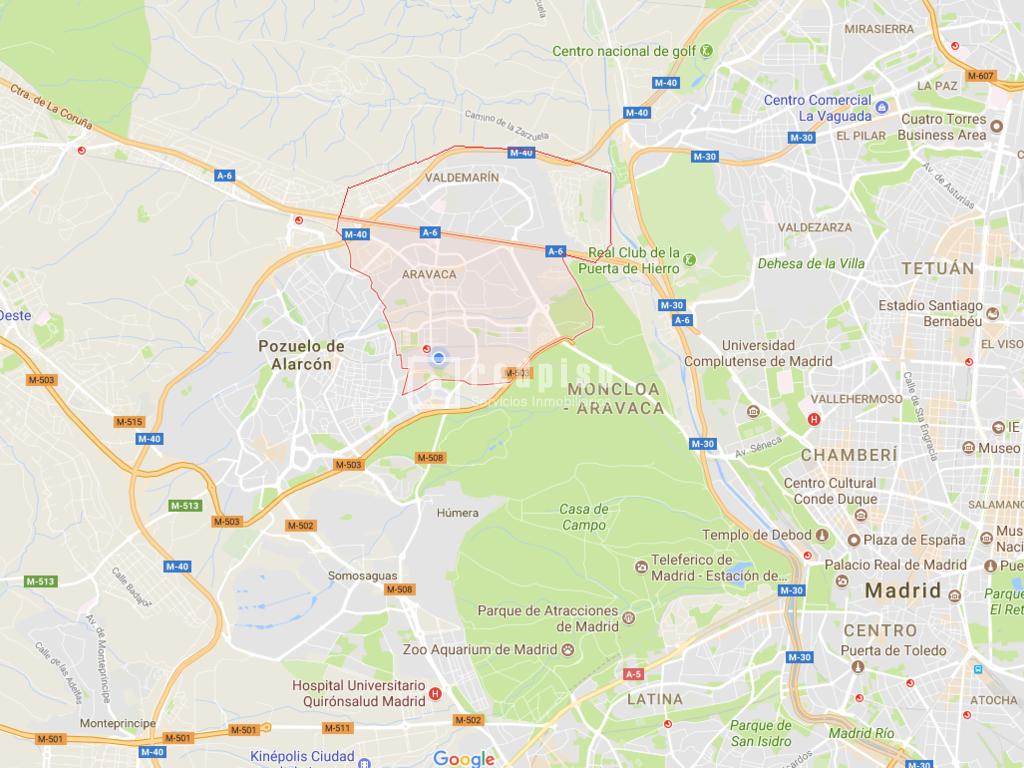 Chalet en venta en moncloa aravaca madrid madrid - Plano de aravaca ...
